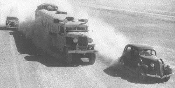 În anul 1923 doi fraţi din Noua Zeelandă înfiinţează în Orientul Mijlociu o companie inedită ce urma să asigure servicii de transport prin Deşertul Sirian. Era formată astfel pentru prima dată o legătură directă de transport motorizat între localităţile Bagdad, Damasc, Beirut şi ...