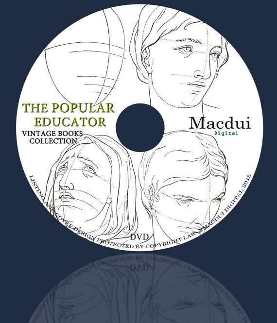 The Popular Educator Encyclopaedia  Vintage by MacduiDigital