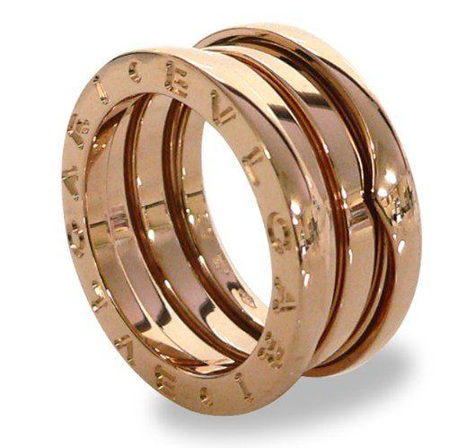 bvlgari bzero1 18kt rose gold 3band