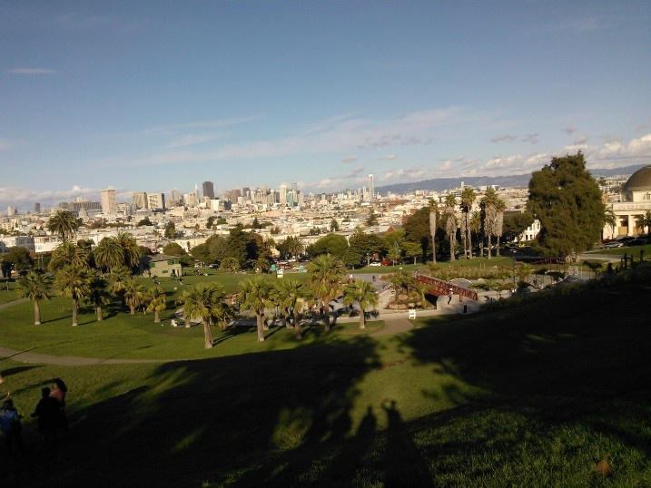 San Francisco from Dolores Park
