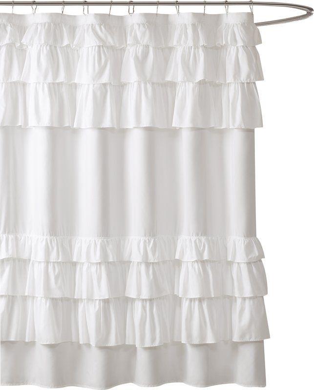 Leflore Microfiber Single Shower Curtain Shower Remodel Master Bathroom Shower Curtains