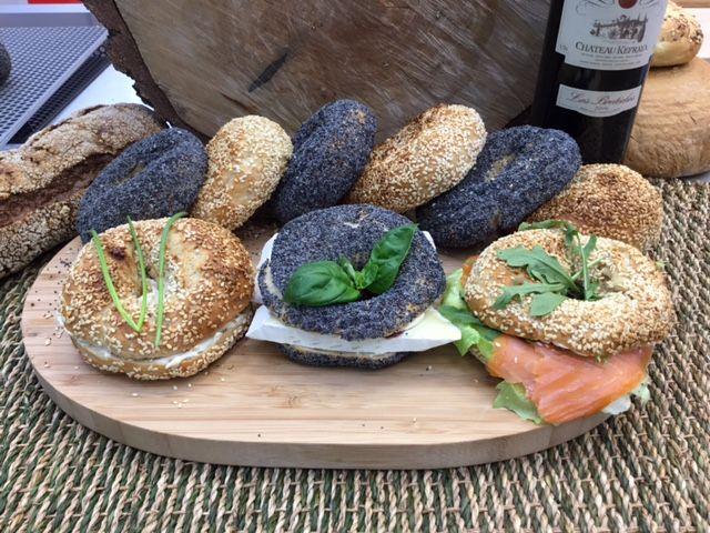 yummy homemade bagels