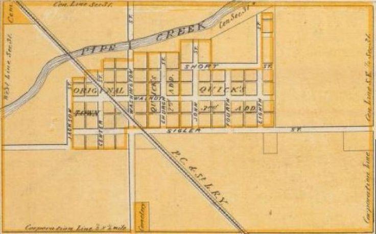 Frankton 1876 madison county indiana photo