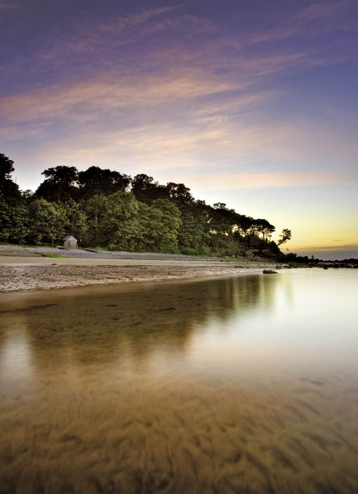 Priory Bay Hotel private beach, Seaview, Isle of Wight