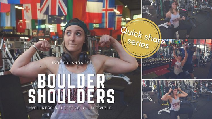 Boulder Shoulders | Delt Workout | Workout Video | Fitness Lifestyle | Jadeyolanda.fi