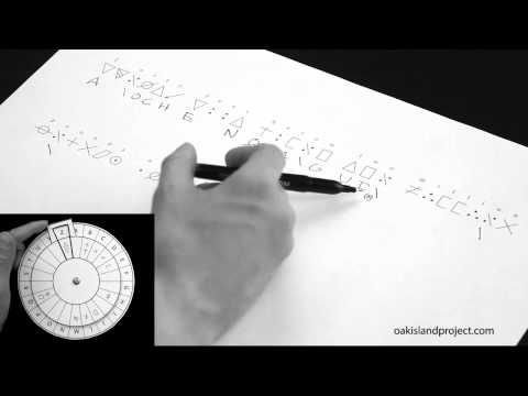 OAK ISLAND | Breaking the Oak Island Inscribed stone symbols, deciphering a dual cipher - YouTube | Published on August 31, 2012