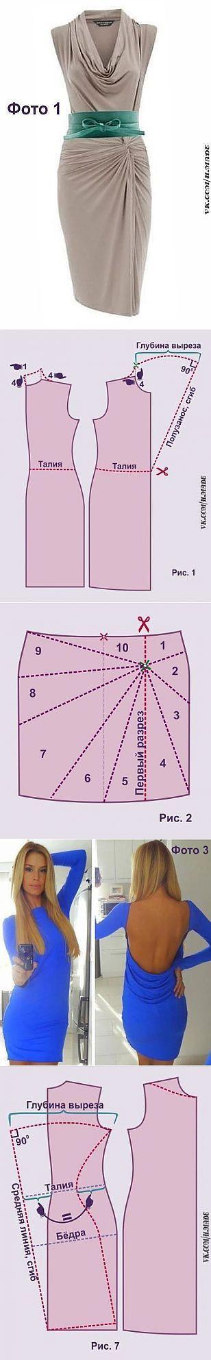 Моделируем платья из тонкого стретча...<3 Deniz <3