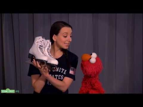 Unit 2 Week 5 on Persistence/ Sports: Sesame Street: Elmo and Team USA Gold Medalist Sarah Hughes Discuss Persistence
