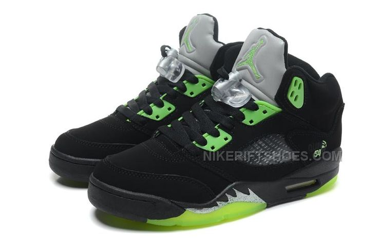 promo code 02467 e3a7f ... 50% off nike air jordan 5 retro quai 54 black radiant green cheap  online 8399d