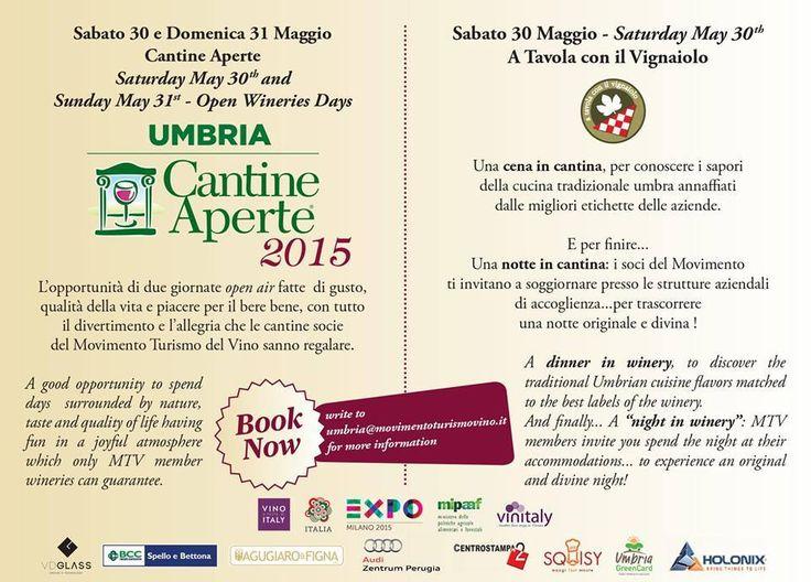 Strade dei Sapori dell'Umbria - Cantine Aperte 2015