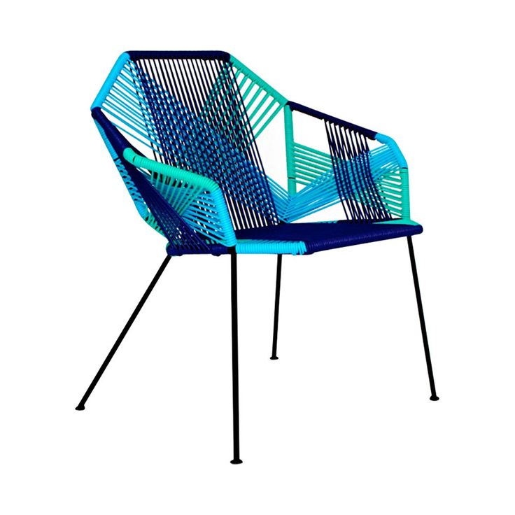 Zen silla tipo acapulco de acero y pvc varios colores for Silla acapulco ikea