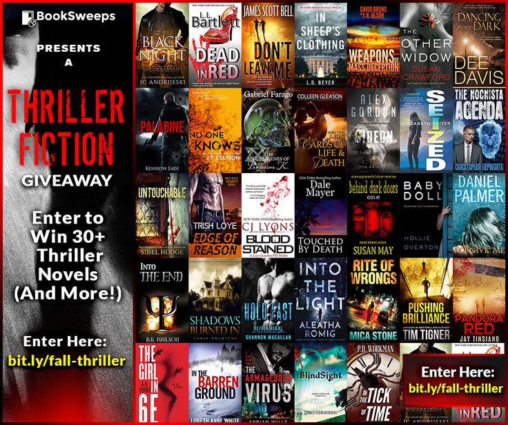 Enter to Win 30+ Thriller Novels! - BookSweeps