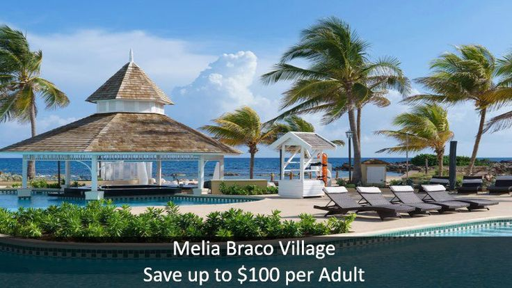 Melia Braco Village - https://traveloni.com/vacation-deals/melia-braco-village/ #caribbeanvacation #jamaicavacation #allinclusive #familyvacation #spa