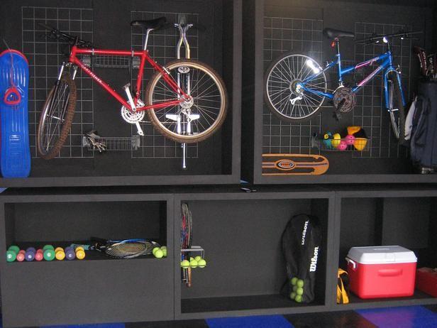 Garage Storage for Kids' Gear