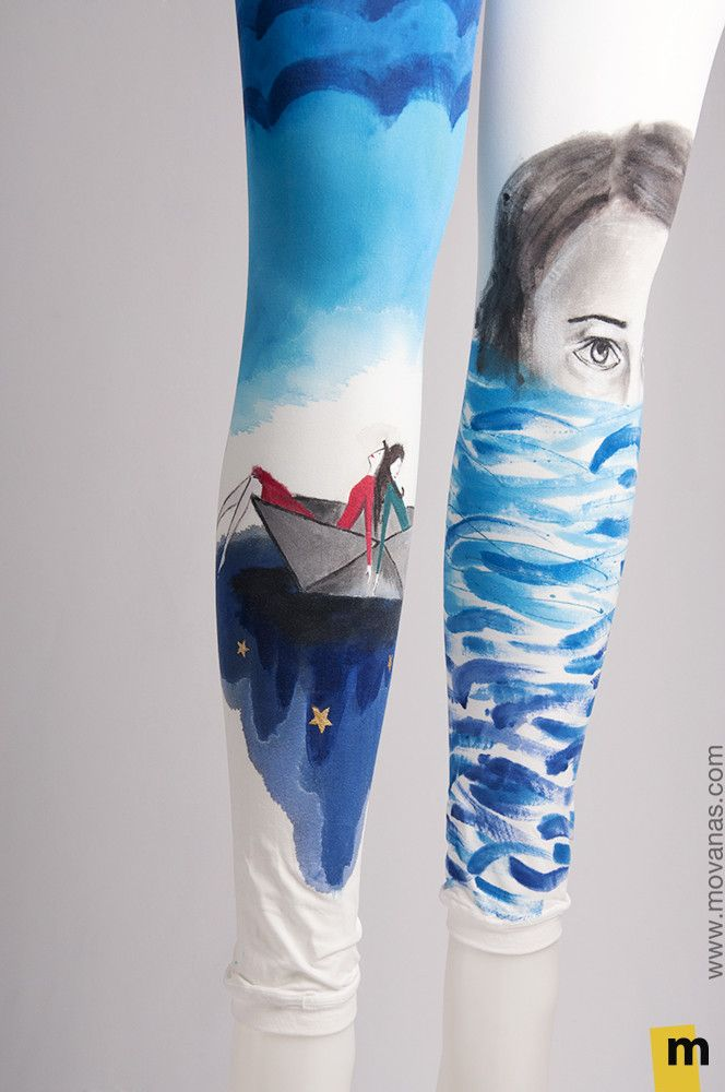 Hand-painted Leggings – Movanas
