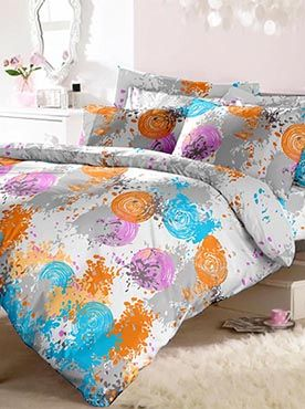 If you need a good quality double bedsheet with two pillow covers, we certainly can give you that. But we can give you much more. Your bedsheet set can become a statement that defines a look for your room. This set is an artist�s palette of Holi colours�young, vibrant, creative and arresting. Our products are made of the finest quality of fabric. This 100% cotton bedsheet will give you comfort and luxury that only our trusted brand can offer. Info
