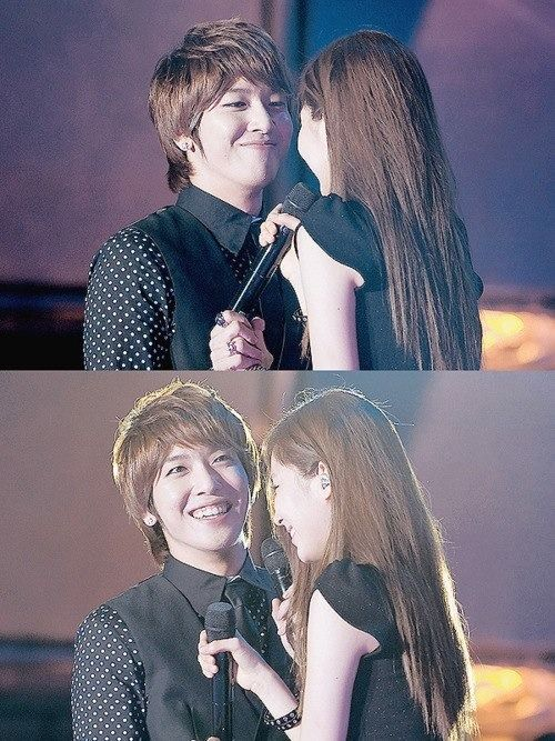 Yonghwa and Seohyun ♡ #WGM #YongSeo