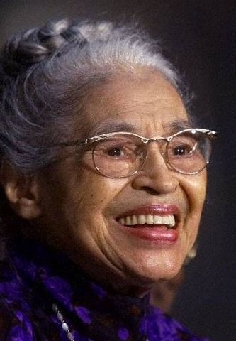 Rosa Parks (1913 - 2005)  