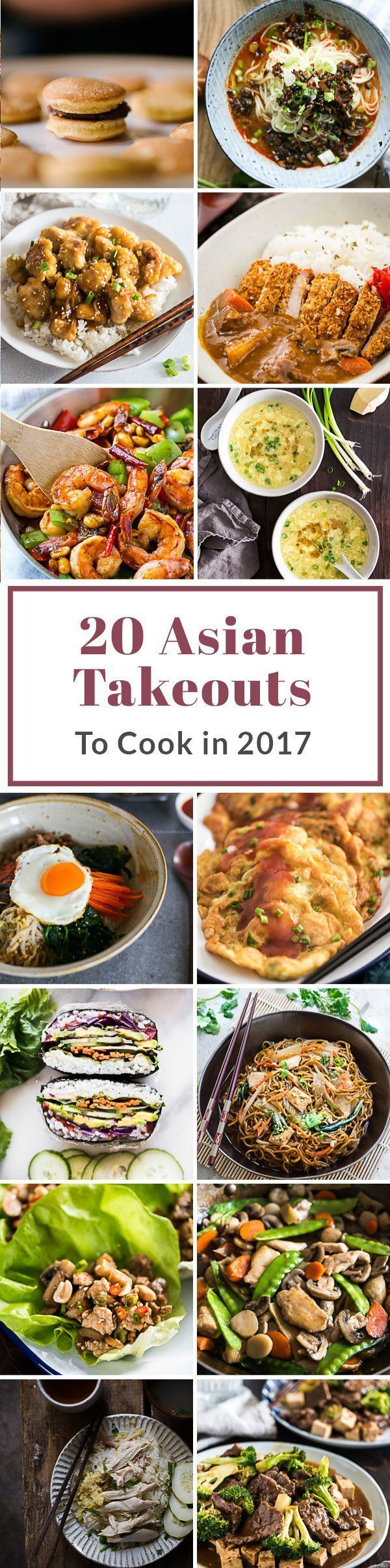 20 Healthy Asian Takeout Recipes You Should Cook In 2017