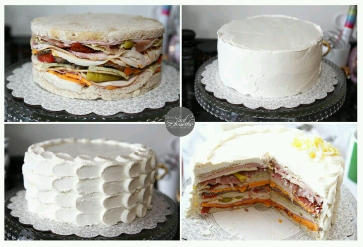 Sandwich cake!!!!????