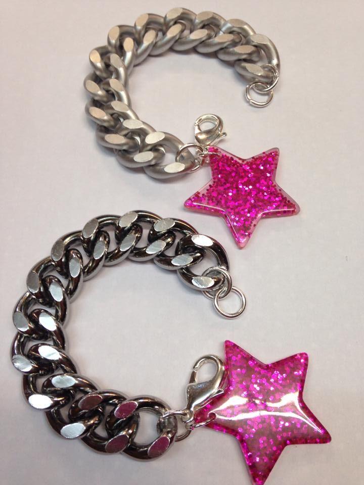 MAXI-CHAINS con estrella glitter de McdPV
