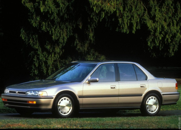 Honda Accord Sedan Car I Owned That Was In The S In