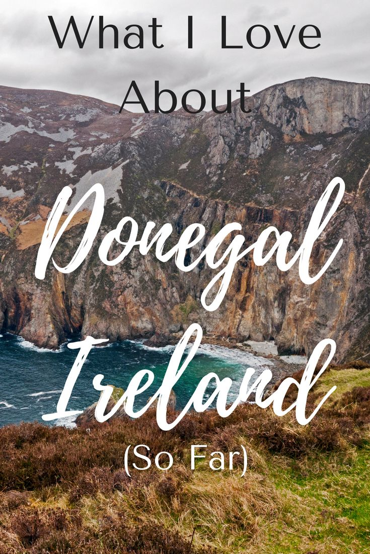 County Donegal is a bit off the beaten path but it's so beautiful. Here are some of the things I love about this Irish county ... so far! #ireland #travel #donegal #offthebeatenpathireland #europetravel #budgettravel #wanderyourway