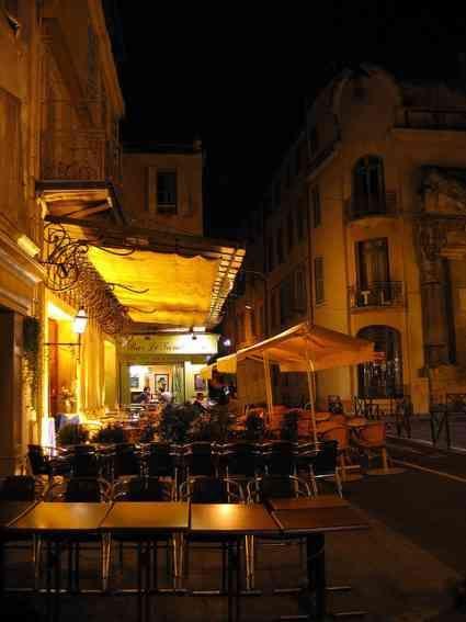 .......Café Terrasse now