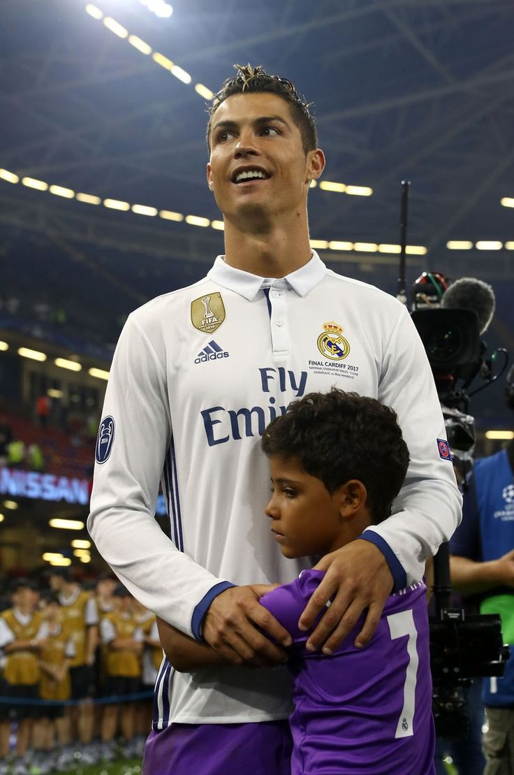 Cristiano ronaldo jr real madrid champions league 12 duodecima cardiff 2017