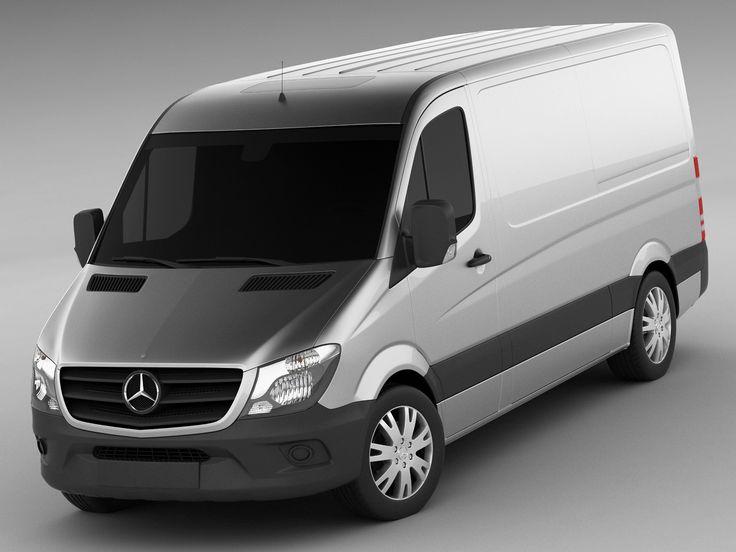 Mercedes Sprinter 2014 3D 3Ds - 3D Model