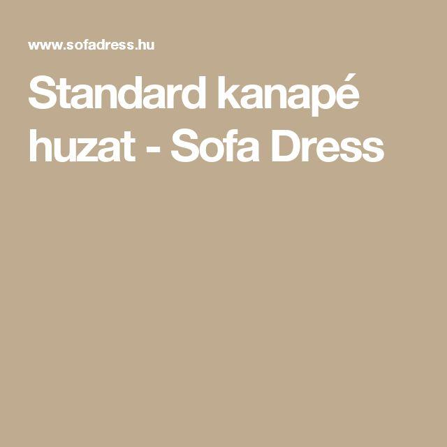 Standard kanapé huzat - Sofa Dress