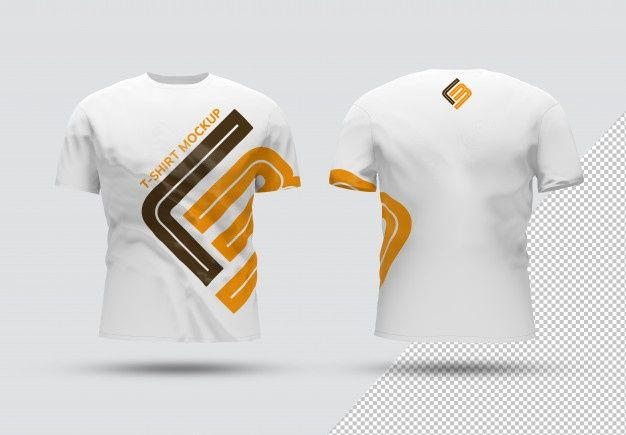 Download Front And Back Isolated T Shirt With Shadow Mockup T Shirt Design Template Shirt Mockup Tshirt Mockup