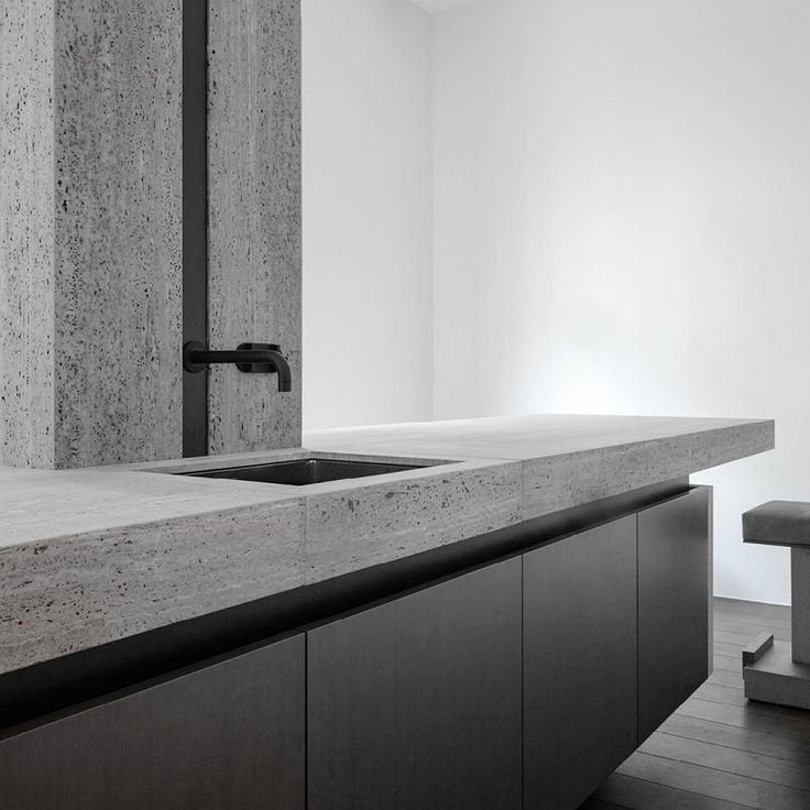 #designmk #kitchen #Obumex #Signature #graykitchen #stonekitchen #industrialkitchen #stonematerial #kitchensink