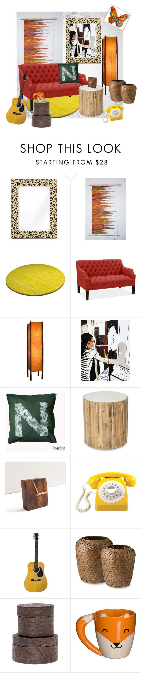 """""""Home Sweet Home"""" by agnkam ❤ liked on Polyvore featuring interior, interiors, interior design, home, home decor, interior decorating, L'Objet, GPO, Pigeon & Poodle and WALL"""