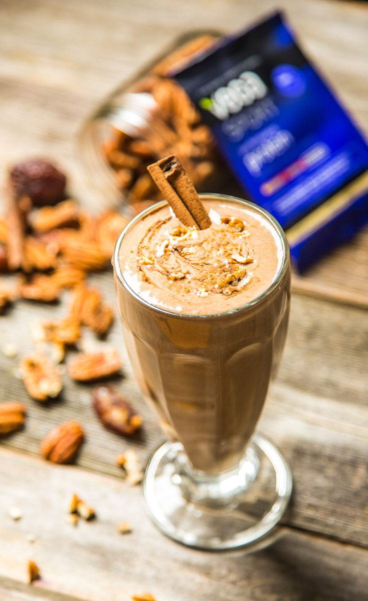 Cinnamon Bun Smoothie: There are few things that scream snowy winter morning like a cinnamon bun does. But starting your day off with a rich, decadent, calorie-rich breakfast will likely make you feel like crawling back into jammies and snuggling on the couch instead of powering through a busy day of work. So instead, try blending up this nutrient dense smoothie to energize your day.