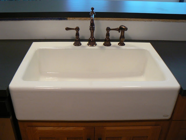 Over Counter Farmhouse Sink : Farmhouse Sink Advice - Kitchens Forum - GardenWeb dickinsons, not ...
