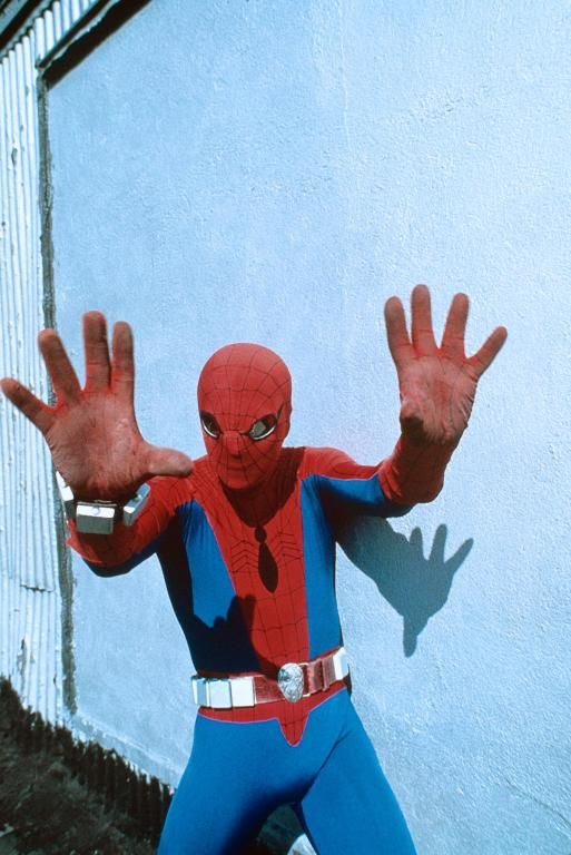 Marvel in film n°1 - 1977 - The Amazing Spider-Man - Nicholas Hammond as Spiderman