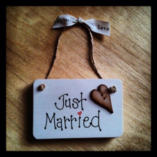 Wedding Plaque 8 Available Www Bloominfab Co Uk