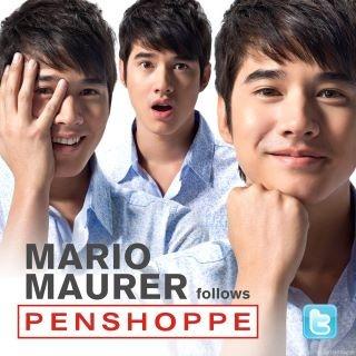 Mario Maurer models for #Penshoppe - No Peeking