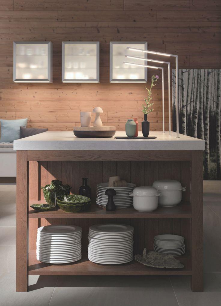 Ponad 25 najlepszych pomysłów na Pintereście na temat Offene küche - küche mit kochinsel grundriss