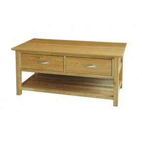 Canterbury Solid Oak MNT15 Coffee Table  www.easyfurn.co.uk