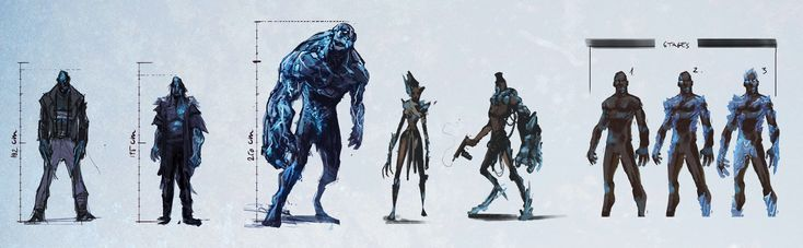 Mutant concepts  for my comic projects. https://buff.ly/2Bir6KU?utm_content=buffer2e50a&utm_medium=social&utm_source=pinterest.com&utm_campaign=buffer