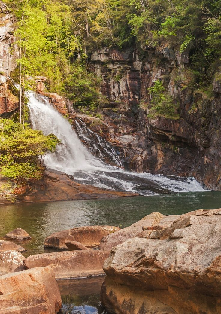Hurricane Falls at Tallulah Gorge State Park in Georgia. I have been right there!