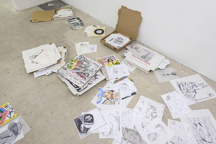 Alex Becerra, Las Putas Problematicas, 2014 | Installation
