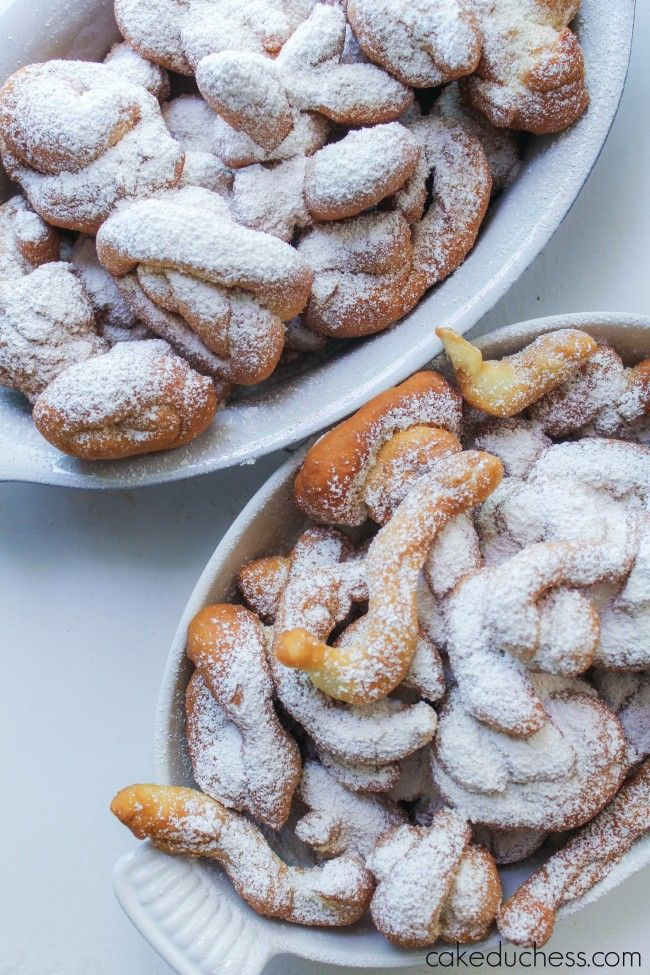 Nocatole {Calabrian Sweet Fritters} -
