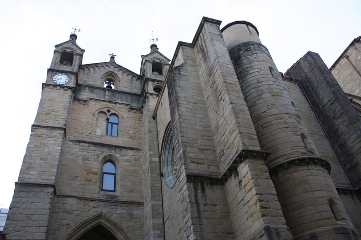 San Vicente Church, San Sebastian, Spain