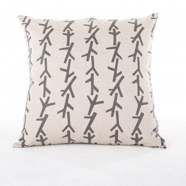 Twigs Design Scatter Cushion - www.wolfandapple.co.uk