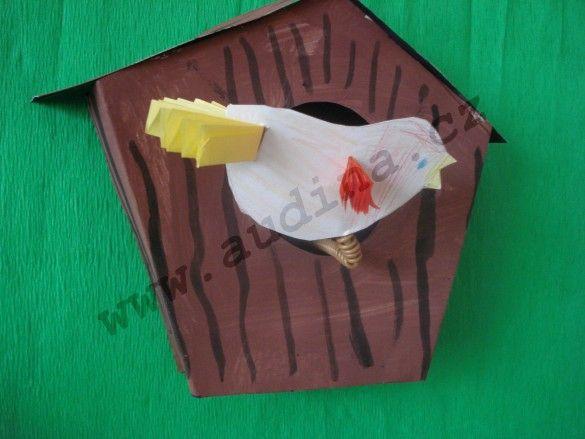 Výroba ptačí budky z papíru | audina.cz – rukodělné činnosti