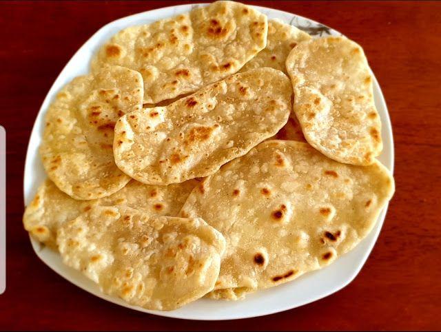 طبخات على البال خبز الشباتي الهندي Indian Shabati Bread Indian Food Recipes Food Cooking