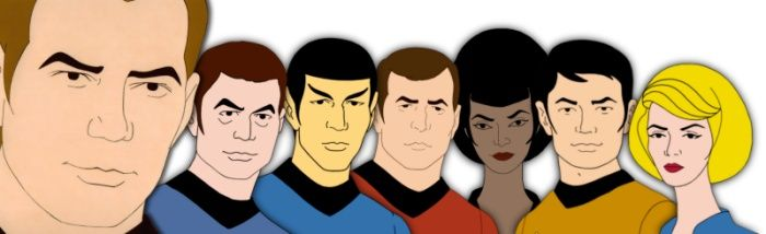 No one told me there was an animated Star Trek.